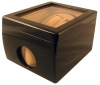 2+1 Blackwood Dual Watch Winder Box AC/DC & Battery Operated